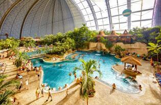 Tropical Islands tickets incl. overnachting direct in het resort