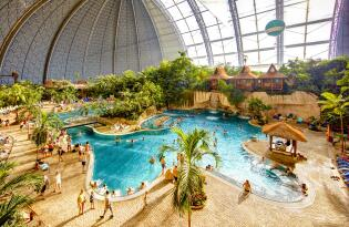 Tropical Islands tickets incl. overnachting direct in het resort