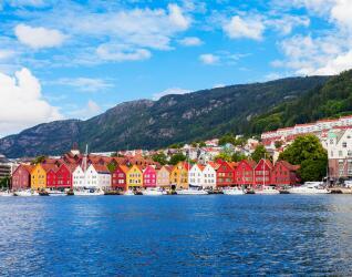 Norwegen Rundreise Bryggen