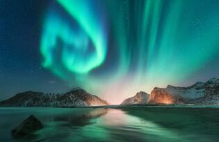 Spannende Schiffsreise über Norwegen zu den Polarlichtern