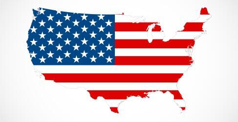 USA Rundreise Map