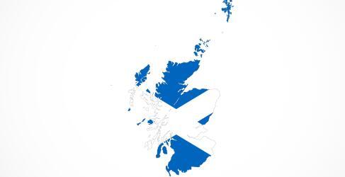 Schottland Rundreisen Map