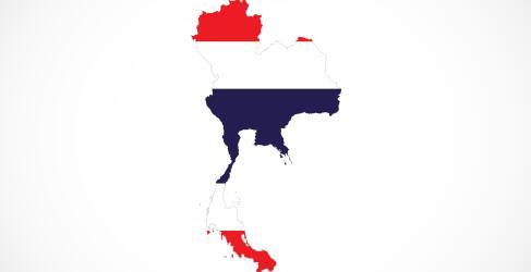 Thailand Rundreise Karte