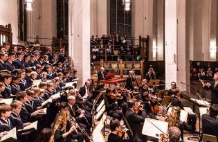 »Weihnachts-Oratorium« von Johann Sebastian Bach in der Thomaskirche