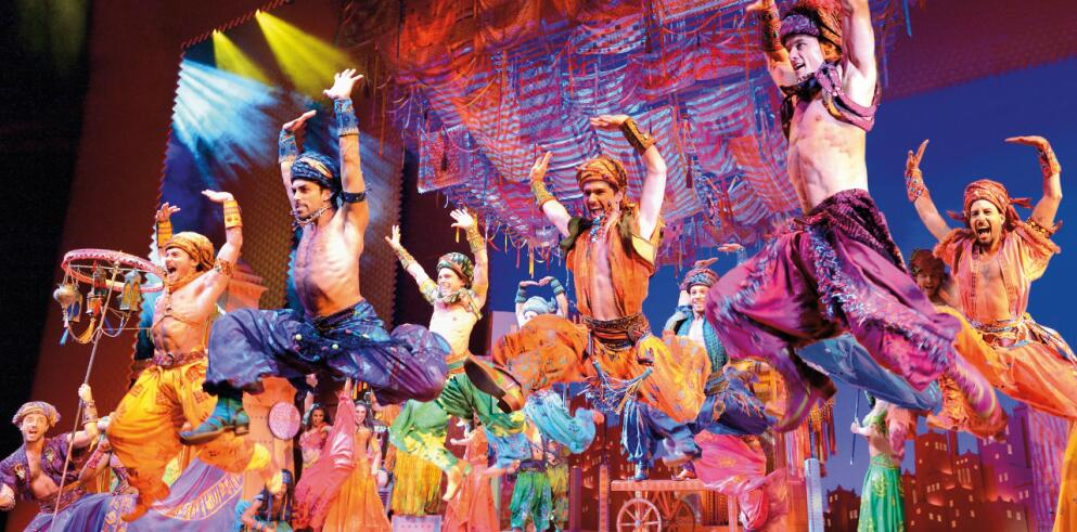Disneys ALADDIN Musical Stuttgart 37344