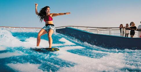 surfing Freedom of the Seas