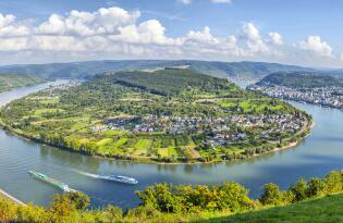 Wellness und Erholung im sagenumwobenen Tal der Loreley direkt am Rhein