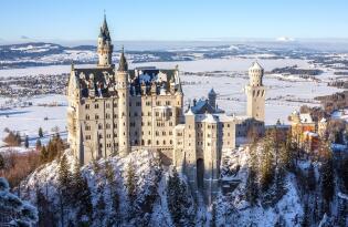 Wellness im Allgäu - Besuchen Sie das Traumschloss Neuschwanstein