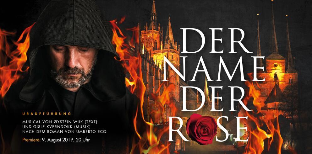 DomStufen-Festspiele 2019: Der Name der Rose 38068