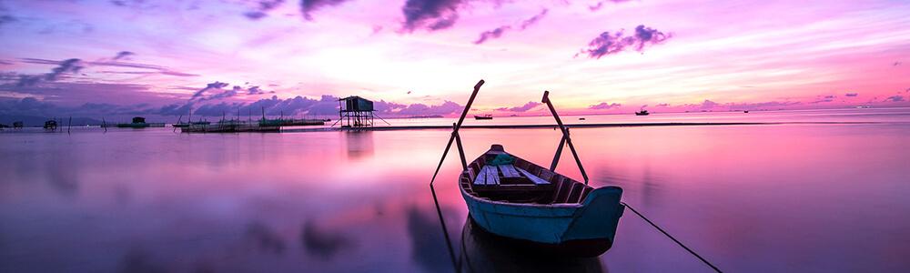 Rundreise Vietnam Sonnenaufgang Meer