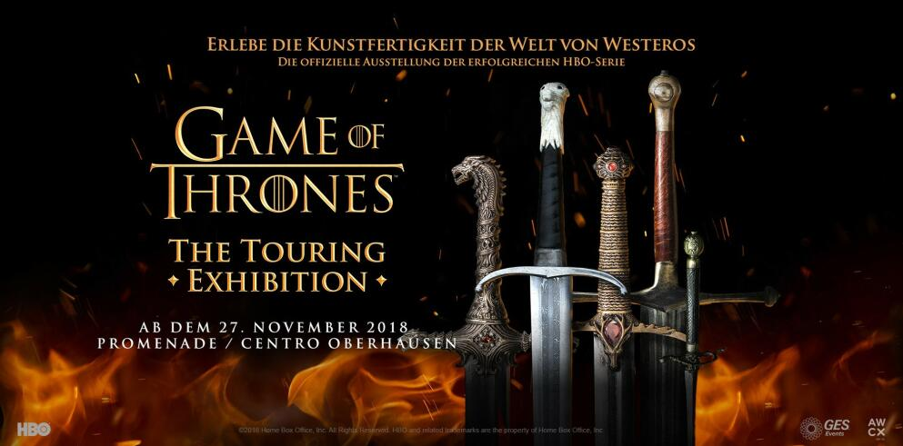 Game of Thrones™: The Touring Exhibition 38882