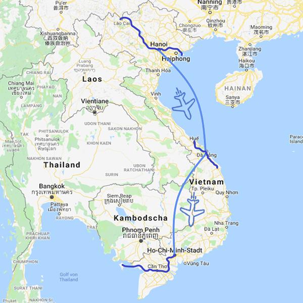 Vietnam Rundreise der Klassiker