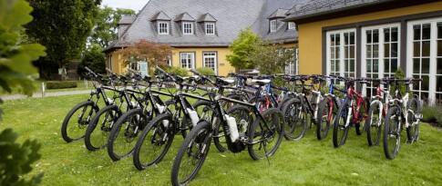Kostenfreie Nutzung der Boule-Bahn & Mountainbike Verleih
