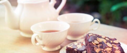 Kaffee und Kuchen (täglich von 14.30 bis 16.30 Uhr)