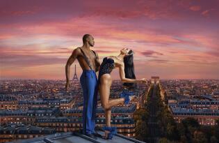Bezaubernde Show im weltbekannten Lido an den Champs-Elysées