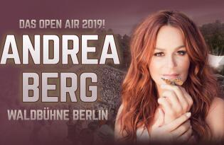 Andrea Berg Open Air 2019! Waldbühne Berlin mit Hotelübernachtung