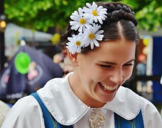 Schweden Frau