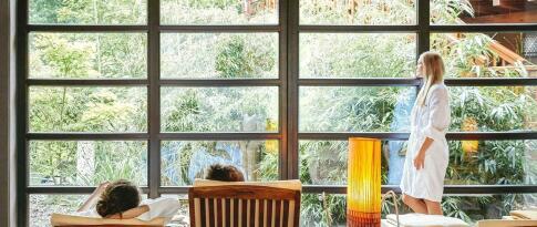 Toegang tot de Bali thermen met saunaruimte