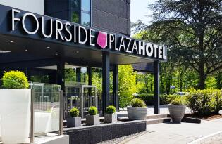 4* FourSide Plaza Hotel in Trier