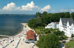 Finden Sie Ihr Wellnessglück am Strand der Flensburger Förde