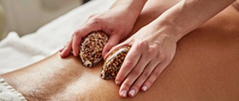 Lava-Muschel-Massage (25 Min.)