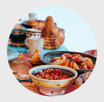 Marokko Küche