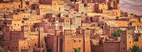 Marokko Rundreise Route