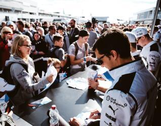 DTM Autogramm