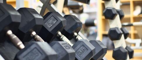 Freier Zugang zum Fitnessbereich