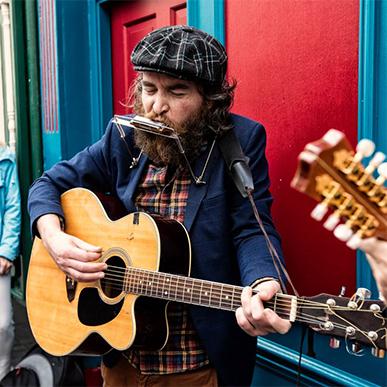 Irland Musiker