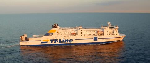 Fähre von Travemünde nach Trelleborg/Schweden und zurück