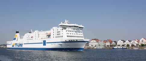 Fähre von Rostock nach Trelleborg/Schweden und zurück