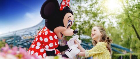 Zauberhafte Extra Zeit: frühere Öffnungszeiten nurfür Disney® Hotel Gäste