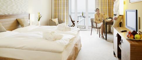 Superiorzimmer mit Meerblick und Balkon