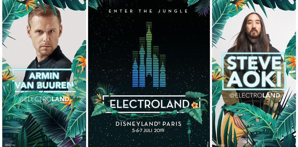 ELECTROLAND – Disneyland® Paris 43402