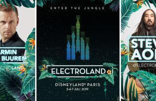 Electroland 2019 in Disneyland® Paris mit ARMIN VAN BUUREN, STEVE AOKI und ALESSO