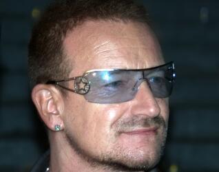 Prominente Iren: Bono
