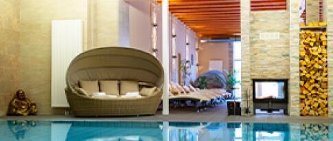 Freie Nutzung des Wellnessbereichs im aqualux Hotel