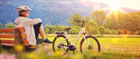 Ermäßigung auf den E-Bike-Verleih
