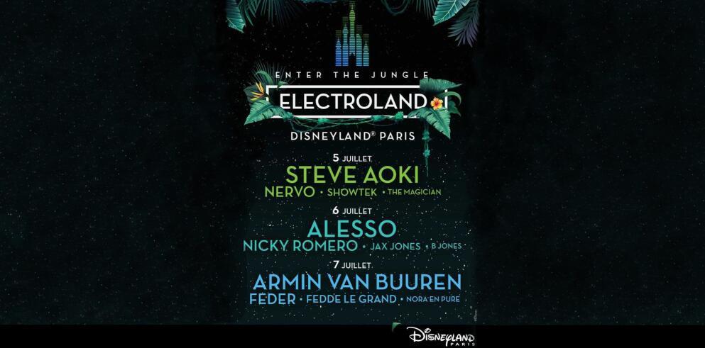 ELECTROLAND – Disneyland® Paris 44345