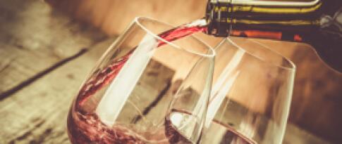 Weinprobe auf einem Weingut in der Nähe von Cannes