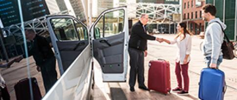 Transfer vom Flughafen zum Hafen Rijeka und zurück