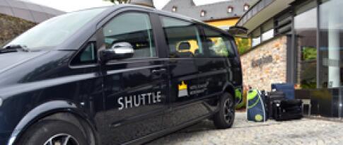 Shuttle Service zum Bahnhof Montabaur