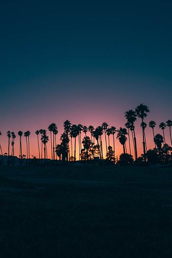 Santa Barbara Dämmerung