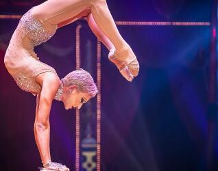 Circus Roncalli Artistin