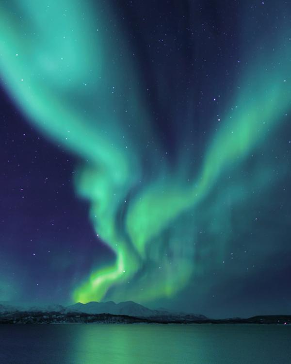 Schweden Polarlicht