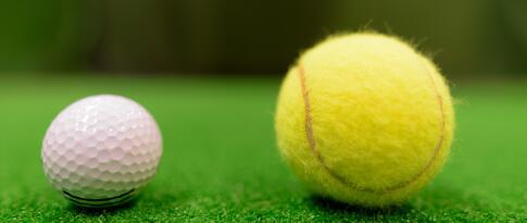 Nutzung des Golf-Übungslager und des Tennisplatzes