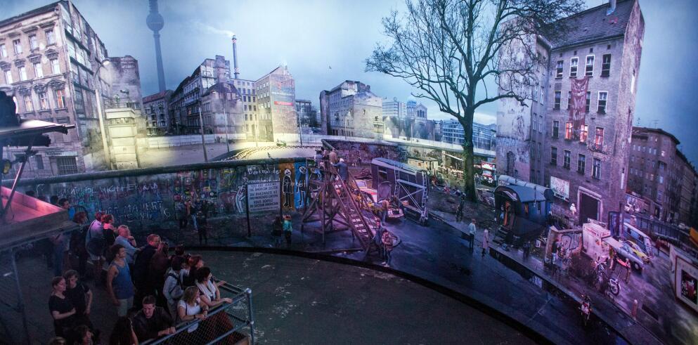 Panorama Berlin – DIE MAUER 45925