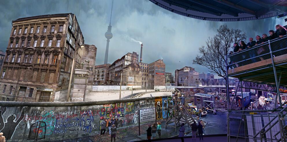 Panorama Berlin – DIE MAUER 45927