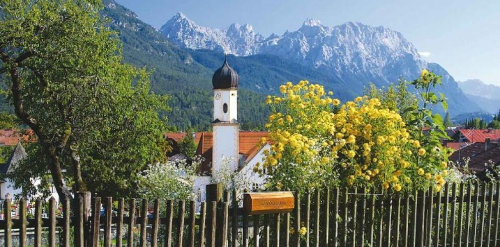 Wallgau Kirche